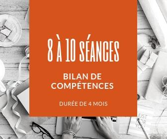 Bilan de compétences – 8 à 10 séances – 4 mois